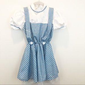 Wizard of Oz Dorothy Gingham Dress Costume